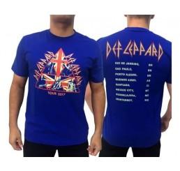 Camiseta Consulado do Rock Def Leppard - Tour 2017