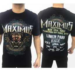 Camiseta Consulado do Rock Maximus Festival