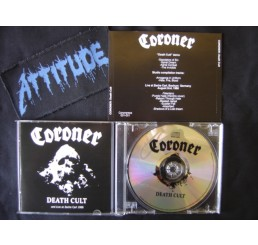 Coroner - Death Cult And Live 1988 - Importado