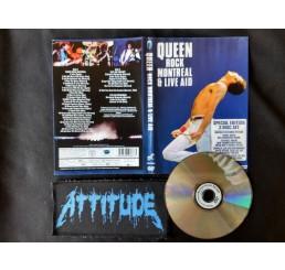 Queen - Rock Montreal & Live Aid (Dual Face) - Importado